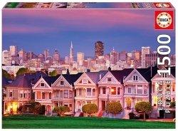 Puzzle 1500 Educa 17119 San Francisco - Painted Ladies
