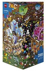 Puzzle 2000 Heye 29699 The Kiss - Guillermo Mordillo