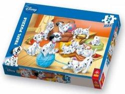 Puzzle 24 Maxi Trefl 14099 Kłębuszek Wełny - 101 Dalmatyńczyków