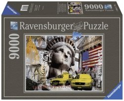 Puzzle 9000 Ravensburger 178032 Impresje