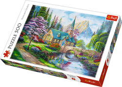 Puzzle 500 Trefl 37327 Leśne Zacisze