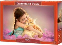 Puzzle 500 Castorland B-52370 Dziewczynka z Kotkiem
