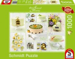 Puzzle 1000 Schmidt 59575 Sweet Dreams - Zielony