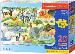 Puzzle 20 Maxi Castorland C-02221 Zoo