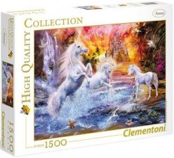 Puzzle 1500 Clementoni 31805 Jednorożce