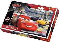 Puzzle 160 Trefl 15339 Auta - Cars 3 - Przyspieszenie