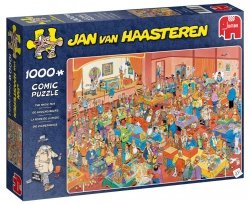 Puzzle 1000 Jumbo 19072 Jan van Haasteren - Pokazy Magicznych Sztuczek