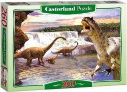 Puzzle 260 Castorland B-26999 Dinozaury - Diplodocus