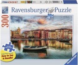 Puzzle 300 Ravensburger 135684 Łódka - Czekając na Świt