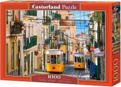 Puzzle 1000 Castorland 104260 Żółty Tramwaj - Portugalia