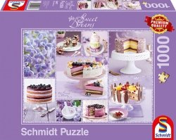 Puzzle 1000 Schmidt 59577 Sweet Dreams - Fioletowy