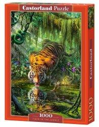 Puzzle 1000 Castorland C-103935 Tygrys w Dżungli
