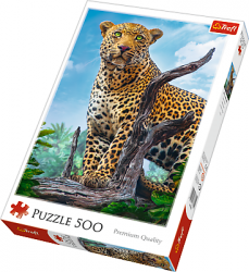 Puzzle 500 Trefl 37332 Dziki Lampart