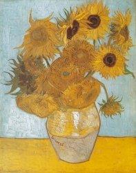 Puzzle 1000 Clementoni 31438 Słoneczniki - Vincent van Gogh
