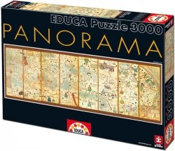 Puzzle 3000 Educa 16355 Mapa Świata