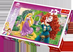 Puzzle 100 Trefl T-16199 Zadziorne Księżniczki