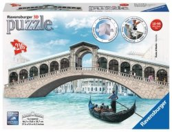 Puzzle 3D 216 Ravensburger 125180 Puzzle 3D Most Ponte di Rialto