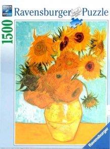 Puzzle 1500 Ravensburger 162062 Van Gogh Słoneczniki