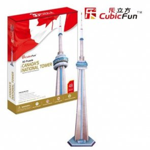 Puzzle 3D CubicFun 48 National Tower - MC109h