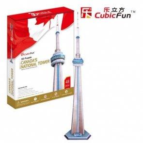 Puzzle 3D CubicFun 48 National Tower - MC109h