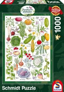 Puzzle 1000 Schmidt 59567 Countryside Art - Warzywa