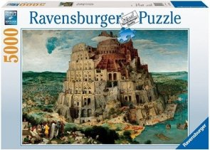 Puzzle 5000 Ravensburger 174232 Bruegel - Wieża Babel