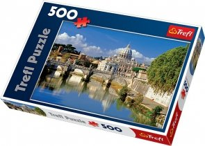 Puzzle 500 Trefl 37087 Watykan Rzym Włochy