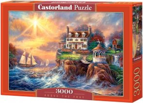 Puzzle 3000 Castorland C-300372 Morskie Urwisko - Above the Fray