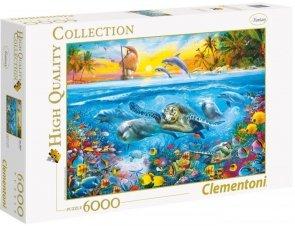 Puzzle 6000 Clementoni 36523 Podwodny Świat
