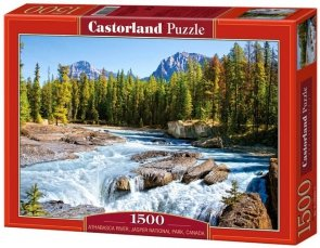 Puzzle 1500 Castorland C-150762 Athabasca River, Jasper National Park, Canada