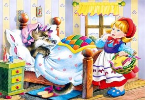 Puzzle 120 Castorland B-12756 Little Red Riding Hood