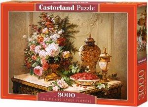 Puzzle 3000 Castorland C-300488 Tulipany i inne Kwiaty