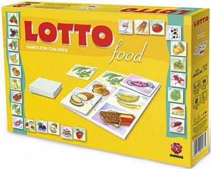 ! Gra Edukacyjna Maxim Lotto Food G24.01.02