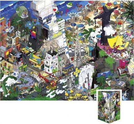 Puzzle 1500 Heye 29575 Rio - eBoy