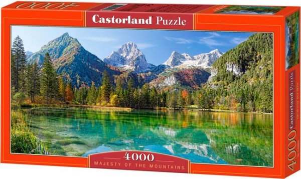 Puzzle 4000 Castorland C-400065 Majesty of  The Mountains
