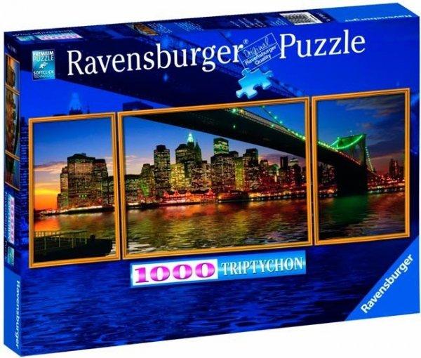 Puzzle 1000 Ravensburger 199068 Nowy Jork - Tryptyk