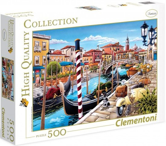 a282e8cc Puzzle 500 Clementoni 35026 Tanikawa - Wenecja - Puzzle 500 - Puzzle ...