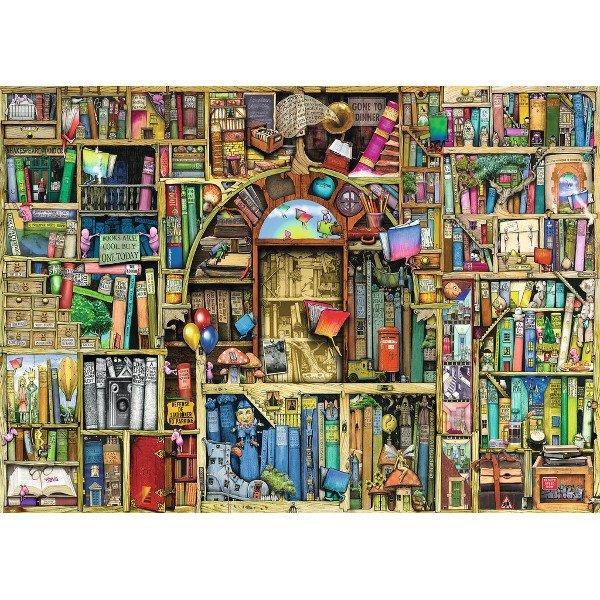 Puzzle 1000 Ravensburger 194186 Dziwaczna Księgarnia 2