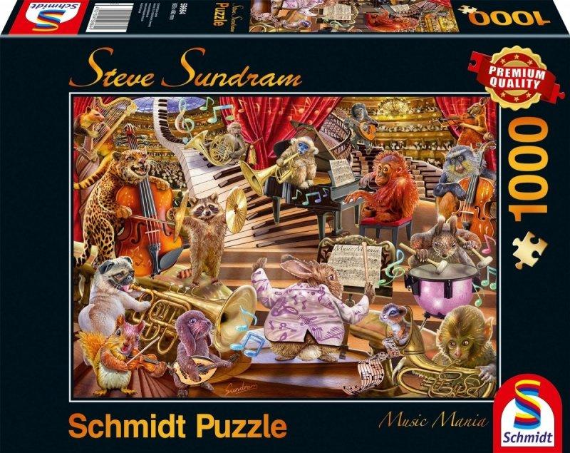 Schmidt 59664 Steve Sundram - Zwierzaki Grają Koncert - Music Mania