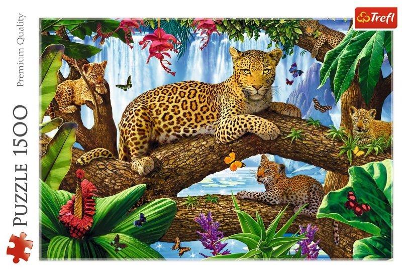 Puzzle 1500 Trefl 26160 Lamparty - Odpoczynek Wśród Drzew