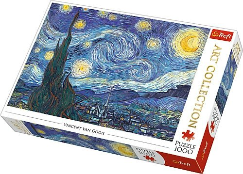 Puzzle 1000 Trefl 10560 Art Collection - Gwiaździsta Noc