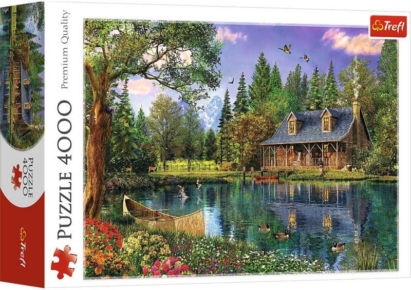 Puzzle 4000 Trefl 45005 Popołudniowa Sielanka