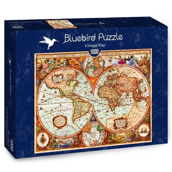 Puzzle 1000 Bluebird 70329 Aimee Stewart - Mapa Antyczna
