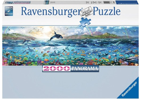Puzzle 2000 Ravensburger 166961 Życie w Oceanie