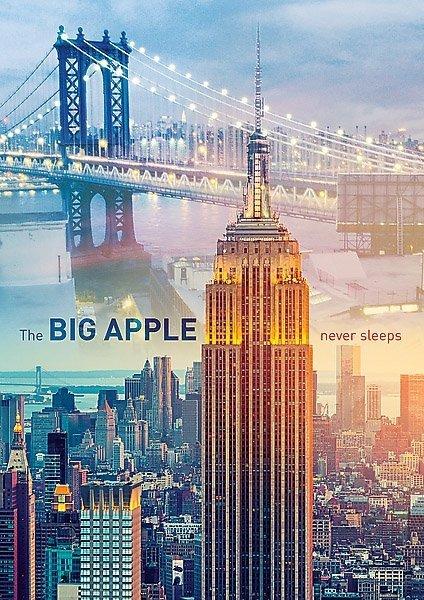 Puzzle 1000 Trefl 10393 Nowy Jork o Świcie
