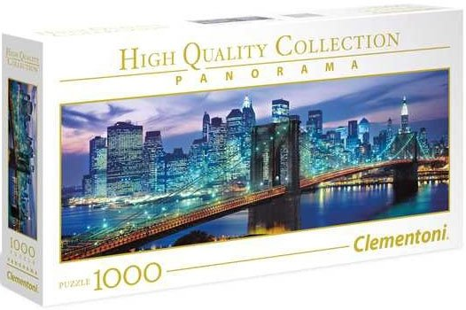 Puzzle 1000 Clementoni 39434 New York Brooklyn Bridge - Panorama