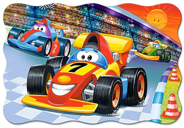 Puzzle 20 Maxi Castorland C-02306 Bolid - Racing Action