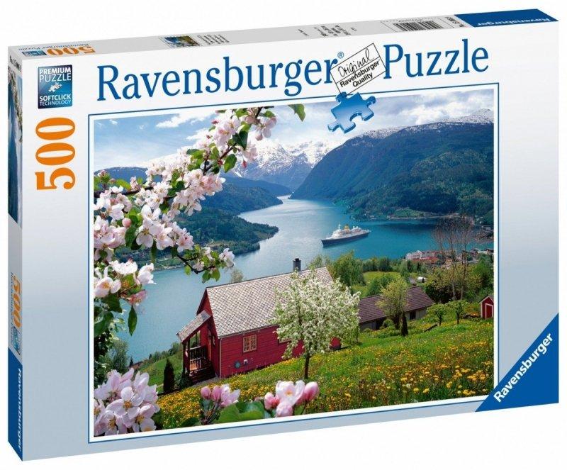 Puzzle 500 Ravensburger 150069 Skandynawska Idylla