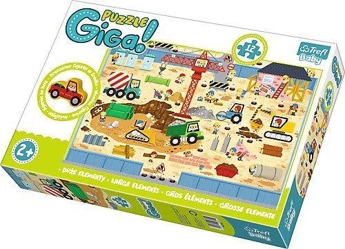 Puzzle Baby Gigantic Trefl T-90755 Budowa