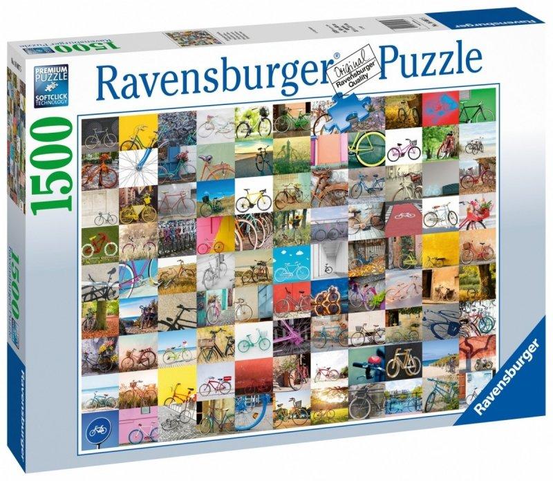 Puzzle 1500 Ravensburger 160075 Rowery - Kolaż